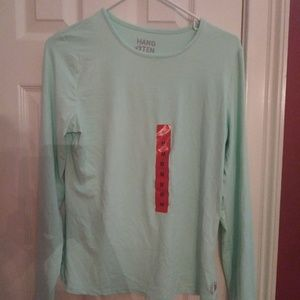 Hang Ten Protective Shirt Aqua UPF 50+ New